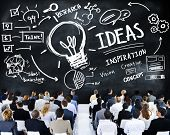 picture of seminars  - Business People Seminar Creativity Growth Success Innovation Concept - JPG