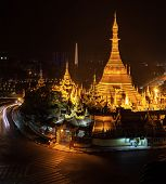 foto of yangon  - Sule Pagoda  - JPG