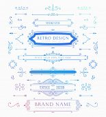 picture of barber  - Set of Retro Brand Vintage Insignias and Logotypes - JPG