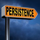 image of persistence  - Persistence try again untill you succeed - JPG