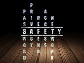 stock photo of crime solving  - Safety concept - JPG