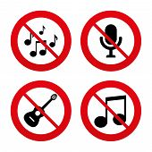 picture of musical symbol  - No - JPG