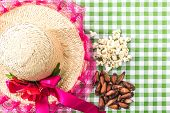 pic of brazilian food  - Table with typical Brazilian Sweets for the famous Junina Party - JPG