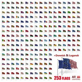 foto of flags world  - World Flags Icon Set Collection  - JPG