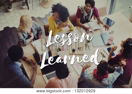 Lesson Learned Educate Learn Knowledge Education Learning Concept