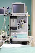 picture of anesthesiology  - professional anesthesiology equipment in hospital - JPG