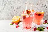 Raspberry Mojito Or Lemonade poster