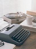 Vintage Writers Desk poster