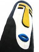 stock photo of gatekeeper  - Traditional Native Malaysian Aboriginal Art  - JPG