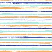 Stripes Geometric Textile Seamless Vector Pattern. Trendy Colors Design. Geometric Casual Print Desi poster