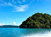 Langkawi, Malaysia - October 13.2019: Langkawi Island Hopping, Diving And Snorkeling In Malaysia. poster