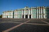 ST.PETERSBURG, RUSSIA - MAY 21: Winter Palace on Palace Square in May 21, 2012 in St.Petersburg, Rus