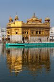 foto of gurudwara  - Sikh gurdwara Golden Temple  - JPG