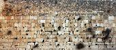 image of israel israeli jew jewish  - Western Wall Jerusalem Israel  Western Wall is located in Old City in Jerusalem - JPG