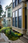 Victorian style homes at Roche Harbor on San Juan Island