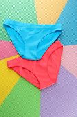 stock photo of womens panties  - Womans panties - JPG