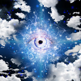 stock photo of freemasons  - Eye Design - JPG