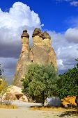 pic of cave-dweller  - Probably the best known feature of Cappadocia - JPG