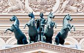 Bronze quadriga of the Bolshoi Theater