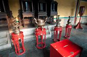 pic of altar  - inside the Imperial Vault of Heaven in The Temple of Heaven  - JPG