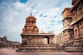 stock photo of tamil  - Brihadishvara Temple - JPG