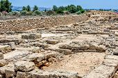 Ruins Of Ancient City On Cyprus