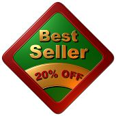 Best Seller - 20% OFF (Red & Green Diamond)