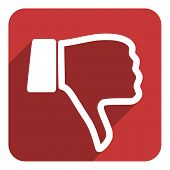 picture of dislike  - dislike icon - JPG