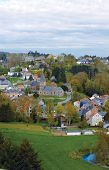 Belgium, Panoramic View Of The Village