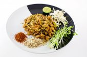 stock photo of bean sprouts  - Thai Dish  - JPG