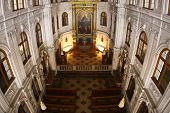 stock photo of munich residence  - Interior of church in Residence museum in Munich - JPG