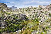 foto of jabal  - Image of landscape Wadi Bani Habib in Oman - JPG
