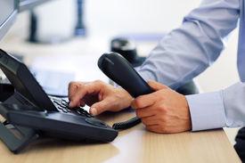 image of keypad  - Dialing telephone keypad concept for communication - JPG