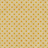 picture of dots  - Dot pattern on grunge old paper texture Seamless polka dot background - JPG