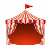 stock photo of circus tent  - Circus tent - JPG