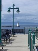 stock photo of burlington  - Fishing pier - JPG