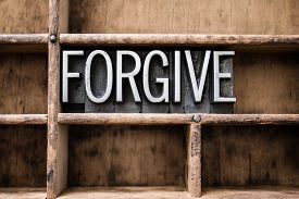 stock photo of forgiveness  - The word  - JPG