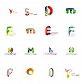 picture of universal sign  - Set of new universal company logo ideas - JPG