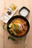 picture of thai cuisine  - Curried Noodle Soup  - JPG