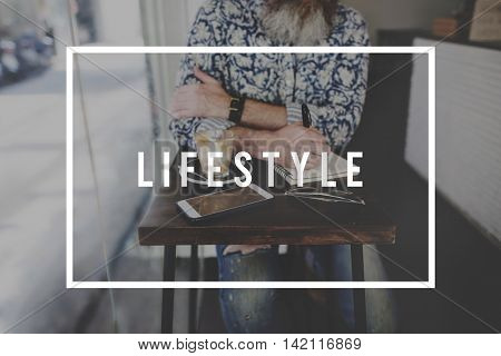 Lifestyle Chill Recreation Relax Life Concept