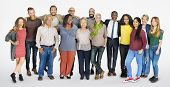 Diverse Group of People Community Togetherness Concept poster