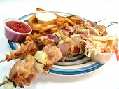 Chicken Kebab Platter