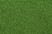 Background Texture Of Synthetic Grass Or Artificial Turf Used For Mini Golf And Putt Putt. poster