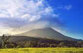 Scenic Arenal volcano in Costa Rica, Central America poster