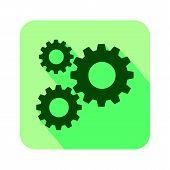 Gear Icon, Gear Icon Eps10, Gear Icon Vector, Gear Icon Image, Gear Icon Vector Design Illustration, poster