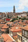 Townscape In Porto poster