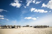 Sandy Beach St. Peter-ording