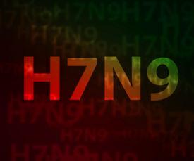 stock photo of avian flu  - H7N9 avian flu bokeh background - JPG
