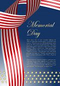 stock photo of significant  - significant day poster with stars and stripes - JPG