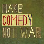 picture of comedy  - Earthy textured background image and design element depicting the words  - JPG